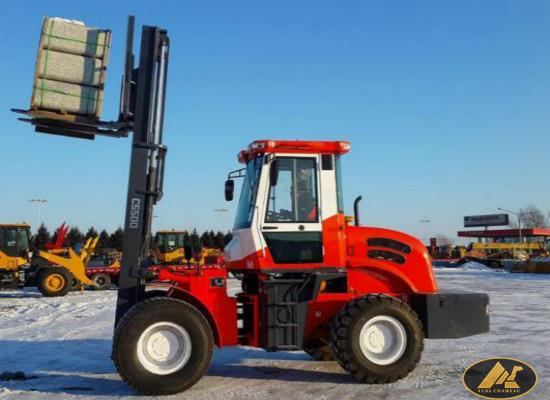 4*4 Axles 3.5ton Rough Terrain Forklift