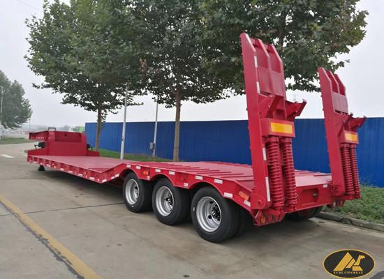CIMC 3 Axles Low Bed