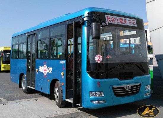 30-33seats 7.3meters length front engine city bus